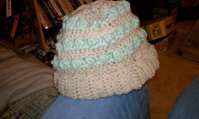 Crochet Bobble Hat