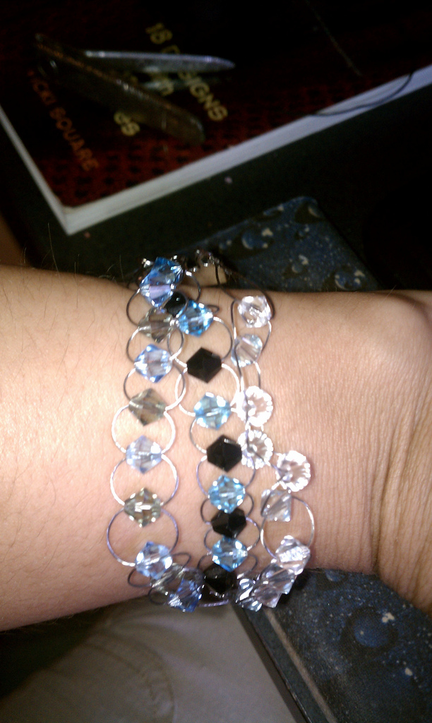 My first handmade bracelet